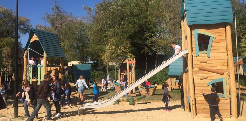 La ciudad de los niños, en el Parque de Consolación